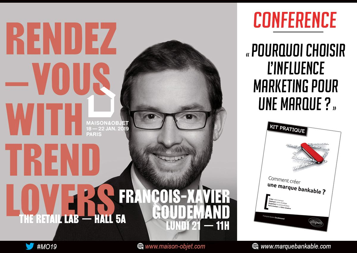 conference influence et marque 2019